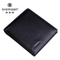 SHERIDAN 喜来登 专柜正品 头层牛皮 短款钱包 礼盒装 NL161011S