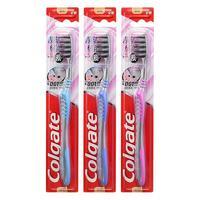 Colgate 高露洁 纤柔牙刷系列超洁纤柔牙刷 3支装