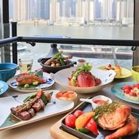 览一线江景!赏魔都三件套!上海外滩英迪格酒店东南亚半自助晚餐