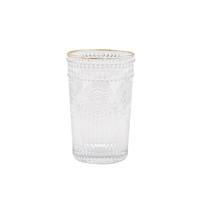 TANGZUN 唐尊 复古浮雕玻璃杯 260ml