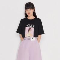 ochirly 欧时力 1NW1027230 女士T恤