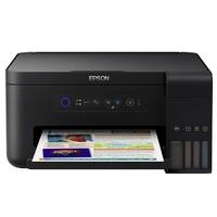 EPSON 爱普生 L4158 墨仓式彩色无线打印一体机