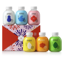 wonderlab 小胖瓶 夏日限定 营养代餐奶昔组合装 混合口味 75g*6瓶