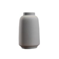 Hoatai Ceramic 华达泰陶瓷 灰色花瓶+干花