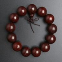 朵云轩 紫檀木同料顺纹手钏手串 1.8cm 18颗