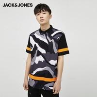 JACK&JONES 杰克琼斯 220306511 宽松Polo衫