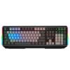 A4TECH 双飞燕 B228 旗舰版 104键 有线机械键盘 黑色 二代蓝光轴 混光