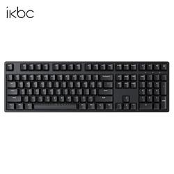 iKBC W210 2.4G无线 机械键盘 108键(CHERRY青轴、PBT键帽)