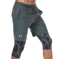UNDER ARMOUR 安德玛 Launch SW 2 in 1 男士运动短裤