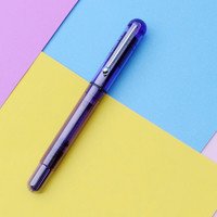 Jinhao 金豪 钢笔 JH01-1 透明紫 EF尖 单支装