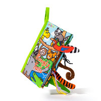 jollybaby 动物尾巴系列 WLTH8014J 婴儿早教布书