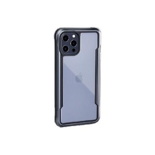 Defense决色 苹果12/12Pro手机壳iPhone12/12Pro全包气囊防摔金属边框全包边透明保护套SHIELD系列星际
