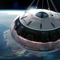 """3万米高空看地球!""""海王星""""飞船开始订票  6小时太空之旅"""