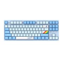 Dareu 达尔优 A87 87键 有线机械键盘 蓝色 DAREU天空轴 无光