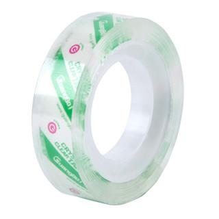 GuangBo 广博 8卷装12mm*20y高透明文具胶带小胶布办公用品TM-13