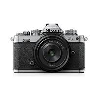 Nikon 尼康 Z fc 微单数码相机 微单套机  银黑色