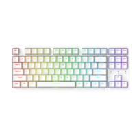 Dareu 达尔优 A87 87键 2.4G蓝牙多模无线机械键盘 白色 DAREU紫金轴 RGB
