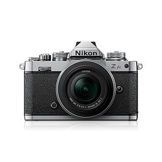 Nikon 尼康 Z fc APS-C画幅 微单相机 银黑色 Z DX 16-50mm F3.5 VR 变焦镜头 单头套机