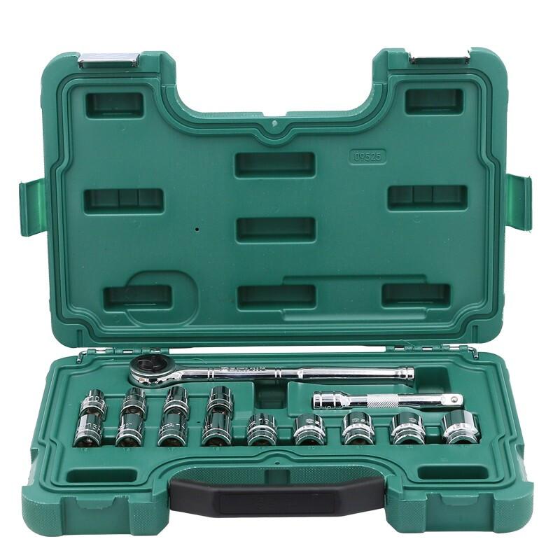 SATA 世达 09525 扳手工具套装 13件套
