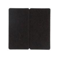 曼宣 MZJD-9.8 静音方形桌脚垫 棕色 8.4*4.2*0.5cm 20片装