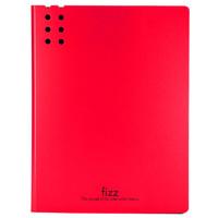 fizz 飞兹 A2387 长押夹文件夹板 红色 单个装