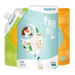 禾甘 木糖醇500g  0脂无蔗糖代糖植物提取甜味料代替白糖白砂糖烘焙蛋糕饼干调味