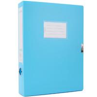 M&G 晨光 DM94991 粘扣档案盒 A4/55mm 蓝色 单个装
