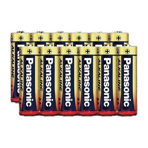 Panasonic 松下 电池 5号碱性电池7号五号七号干电池家用儿童玩具拍立得鼠标空调电视遥控器闹钟1.5V非充电电池