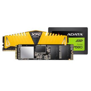 ADATA 威刚 SP580 固态硬盘 128GB+SX8200 Lite 固态硬盘 2TB+XPG 威龙 Z1 32G 内存条