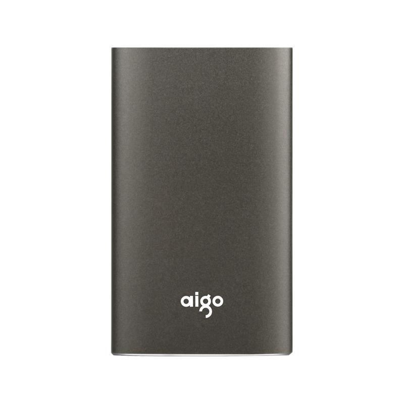 aigo 爱国者 S01 USB 3.0 移动固态硬盘 Type-C 480GB 锖色