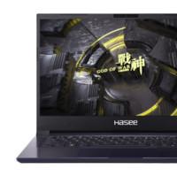 Hasee 神舟 战神 S7-2021S5 14英寸 轻薄本 黑色(酷睿i7-1165G7、GTX 1650Ti 4G、16GB、512GB SSD、1080P、IPS)