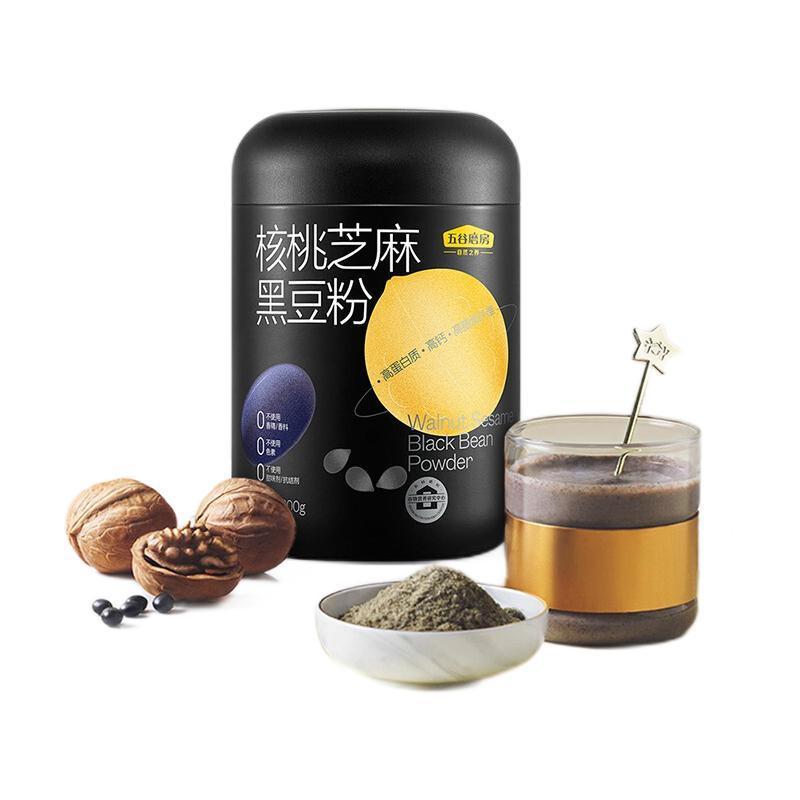 五谷磨房 核桃芝麻黑豆粉 600g