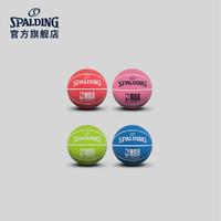 SPALDING 斯伯丁 51-289Y 高弹室内室外篮球 迷你款