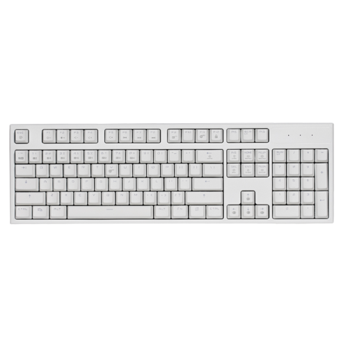 HEXGEARS 黑峡谷 GK511 104键 有线机械键盘 白色 凯华BOX白轴 单光