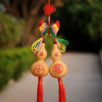 葫仙 天然葫芦挂件 吉祥如意 日日进财