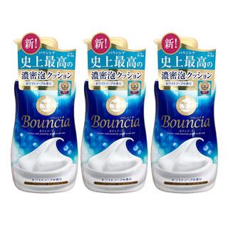 bouncia 浓密泡沫沐浴露 500ml*3件装