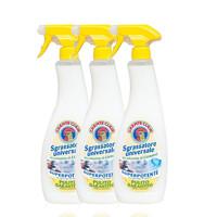 黑卡会员:CHANTE CLAIR 大公鸡头 厨房油污净清洁剂 625ml 柠檬味 3瓶装