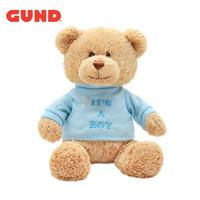 GUND 冈德 经典泰迪熊T恤熊系列 毛绒玩具 T恤熊-男孩 23cm