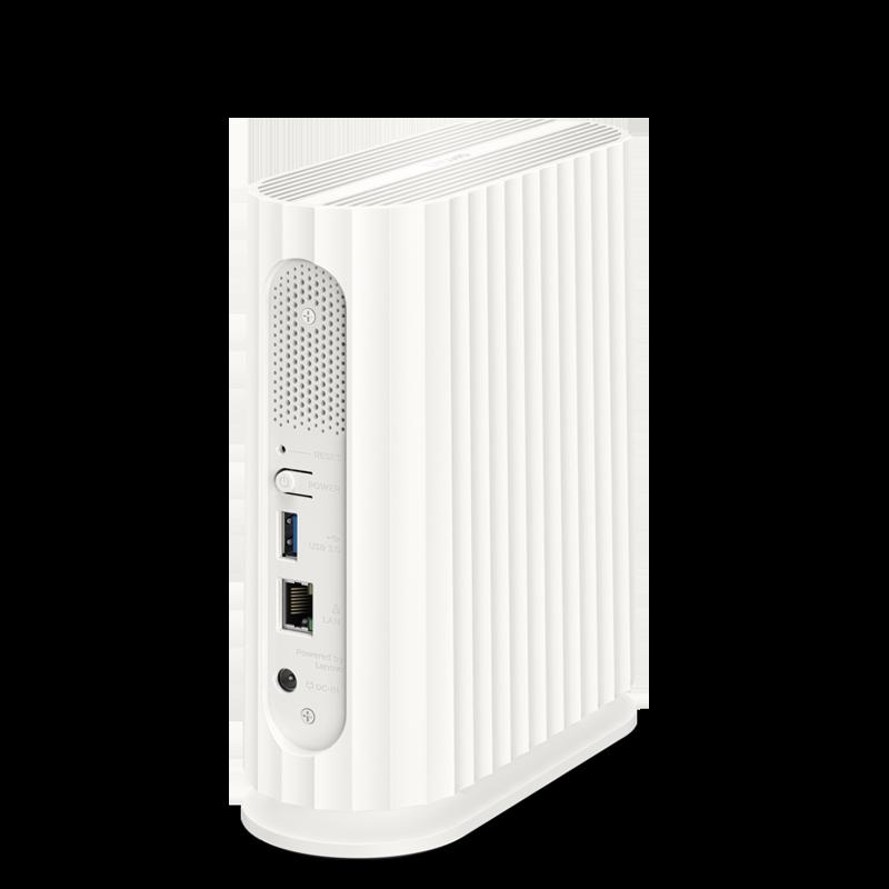 Lenovo 联想 个人云存储 NAS网络存储服务器 无盘位3T单盘