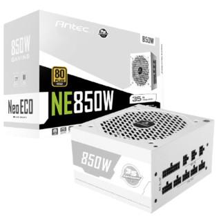 Antec 安钛克 NE850 金牌(90%)全模组ATX电脑电源 850W