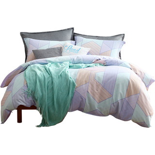 MENDALE 梦洁家纺 全棉床上四件套 1.8m