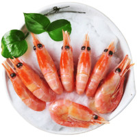 PLUS会员:浓鲜时光 北极甜虾 头籽 2.15kg