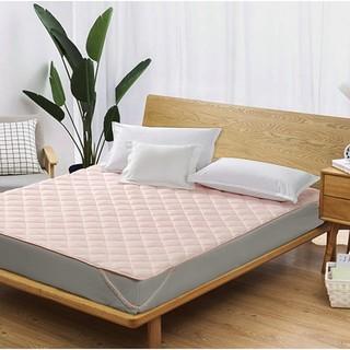 FUANNA 富安娜 床垫套罩抗菌薄款夏季保护垫褥子单件学生宿舍单人床笠床罩