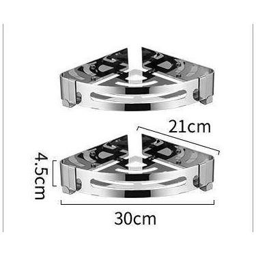 XIONGYING 雄毅 卫生间置物架 双层三角架