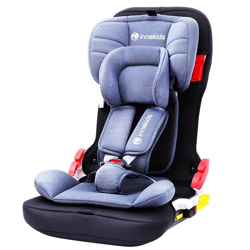 innokids 儿童安全座椅 9个月-12岁 皇室蓝