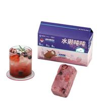 水獭吨吨 超即溶果茶块 双果莓莓 12g*6枚 无蔗糖版