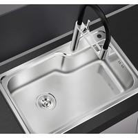 diiib 大白 32564 304不锈钢厨房水槽 单槽