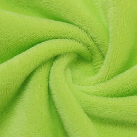 紫誉 超柔水晶面料 果绿色