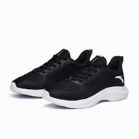 男鞋跑步鞋2021夏季新款软底运动鞋缓震跑鞋 黑-1