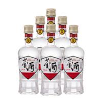 董酒 白标 54%vol 董香型白酒 125ml*6瓶 整箱装